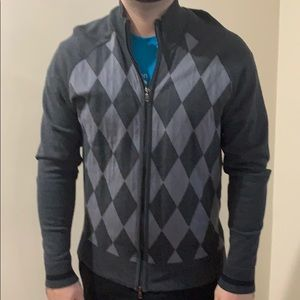 Never used (no tags) Men's INC zip sweater